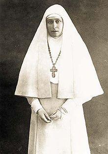 Елисавета Феодоровна в одежде сестры Марфо-Мариинской обители