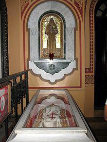Рака с мощами святой Елизаветы вцеркви Марии Магдалины