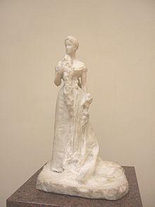 Скульптурный портрет Елизаветы Фёдоровны работыПавла Трубецкого, 1899